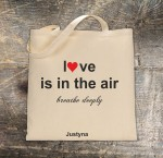 "Torba ""Love is in the air"""